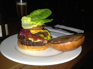 The dark horse of the night- the mishima burger