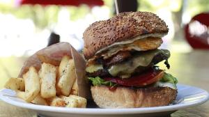 Grill'd's Big Queenslander Burger. Image source: http://www.news.com.au/