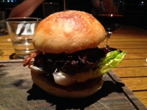 The Woolshed Burger