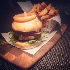 The Goat Burger: https://www.facebook.com/TheBeerAndBurgerBar?fref=ts